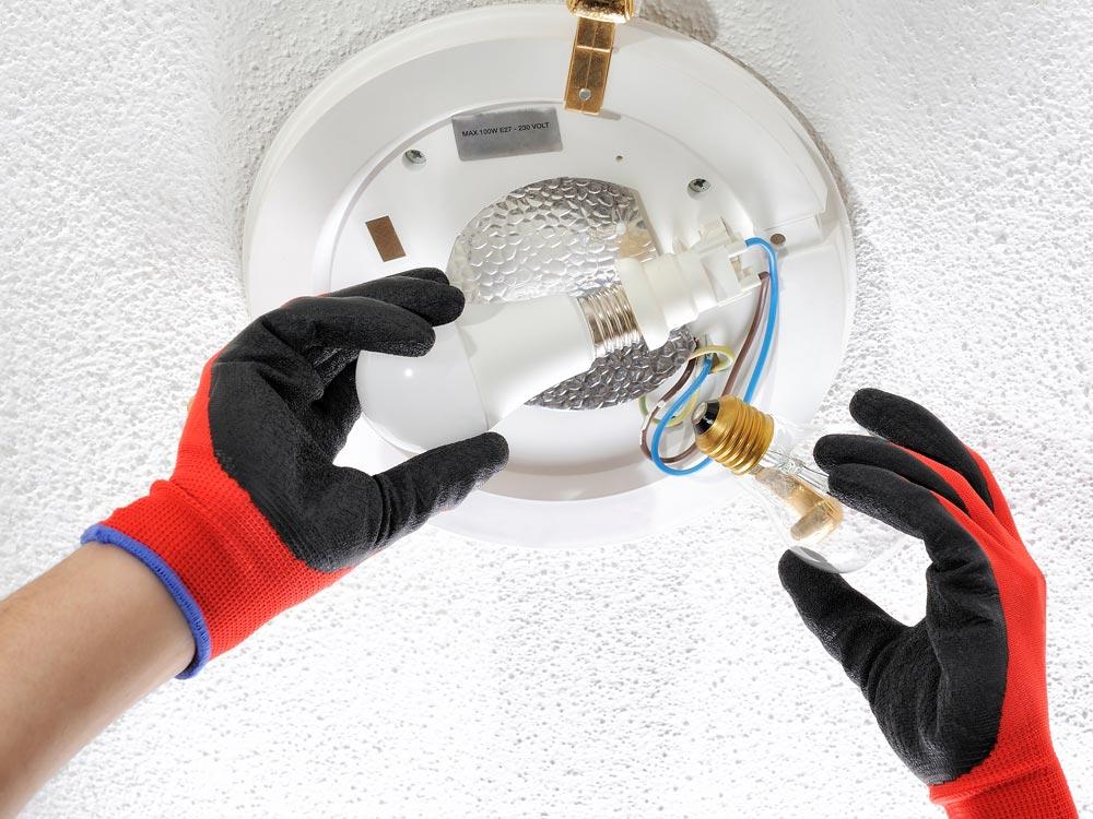 Blanpur Services à Luxembourg - Ampoules, lumières, LED, intervention rapide